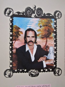 Brochure for Nick Cave exhibition - on till 29 November at NLA